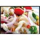 Spicy chicken legs salad