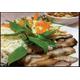Special grilled pork neck salad