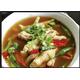 Spicy chicken leg soup