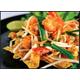 Stir-fried Thai style crispy wonton with prawns