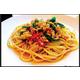 Stir-fried spaghetti with spicy hot basils minced pork