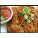 Thai omlete with minced pork