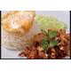 Stir-fried pork/beef/prawns/squids with garlics and pepper