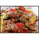 Stir-fried pork/beef with black pepper sauce