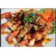 Stir-fried prawns with tamarind sauce
