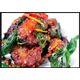 Deep fried catfish with crispy hot basils
