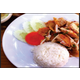 Crispy fried chicken spicy sauce