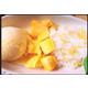 Thai sticky rice with mango and ice cream