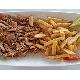 26. Shawarma In Plate . Gà
