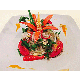 Minced pork salad with sour and spicy sauce