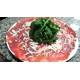 Carpaccio di manzo e Parmigiano