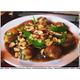Unhatched quail egg stir-fried tamarind