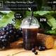 Blackberry tea with aloe vera