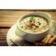 Clam porridge with fresh mushroom
