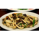 Stir-fried beef with mixed mushrooms