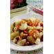 Stir-fried tiger prawns with mushrooms