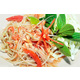 Papaya salad with dried shrimp