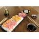 B8 Raw Salmon + Tuna + Crunchy Salmon x2 + Crunchy Tuna x2
