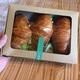 Croissant (set 3 pcs 3 savor: tuna, chicken, meat)