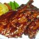 Pork ribs B.B.Q