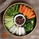 Steamed Seasoned Vegetables