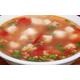 Soup with Tomato, Tofu and Pork