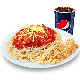 Jumbo Spaghetti + 2pcs Chicken Strips + Softdrink