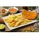 Chicken schnitzel & Chips