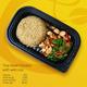 Thai Basil Chicken with wild rice