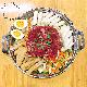 Tteok-bokki hot pot + beef (small/medium)