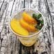 Marinated kumquat with peach
