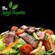 Grilled beef salad 216 gram