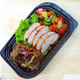 Grilled chicken with vermicelli stir-fry salad